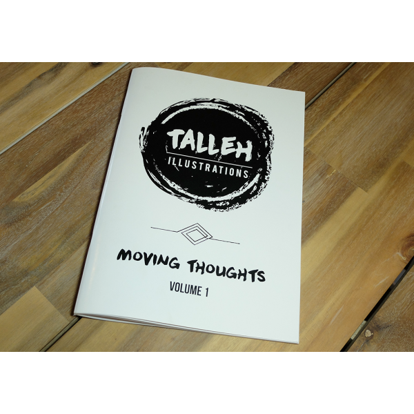 Colouring Book - Moving Thoughs Volume One