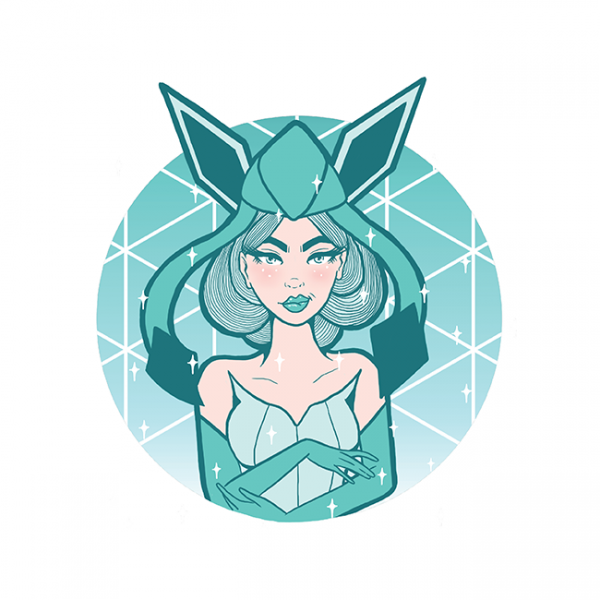 Square Magical Girl Glaceon