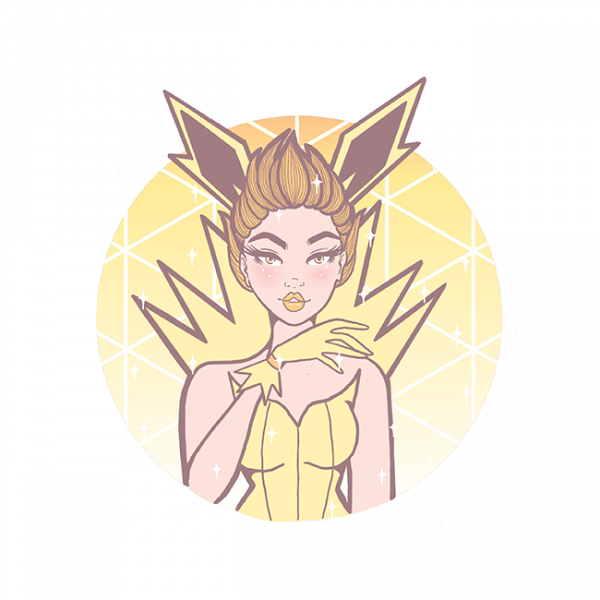 Square Magical Girl Jolteon
