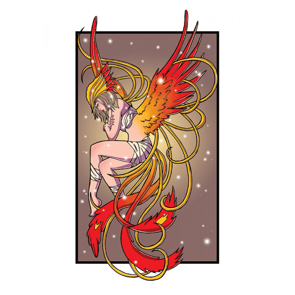 Giclee Phoenix Print - A4
