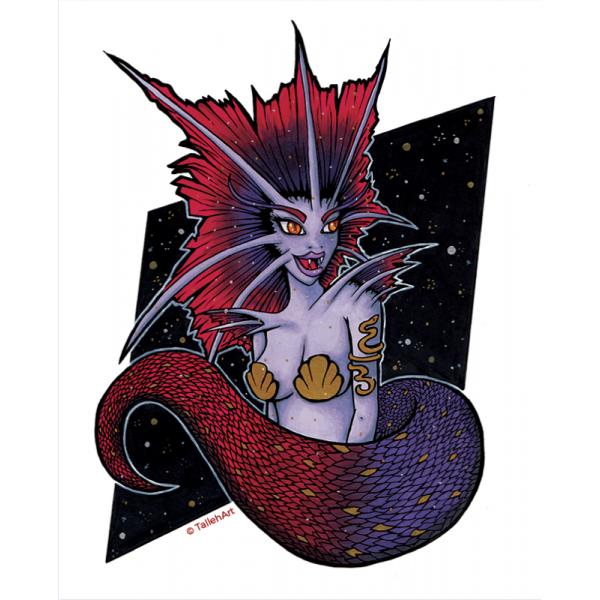Goddess Naga Print - A4/A6