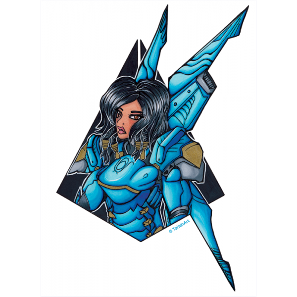Overwatch Pharah Print - A4/A6