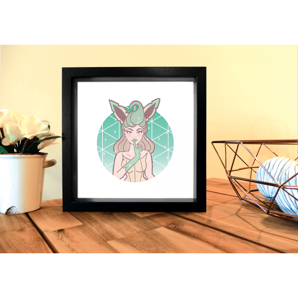 Square Magical Girl Leafeon