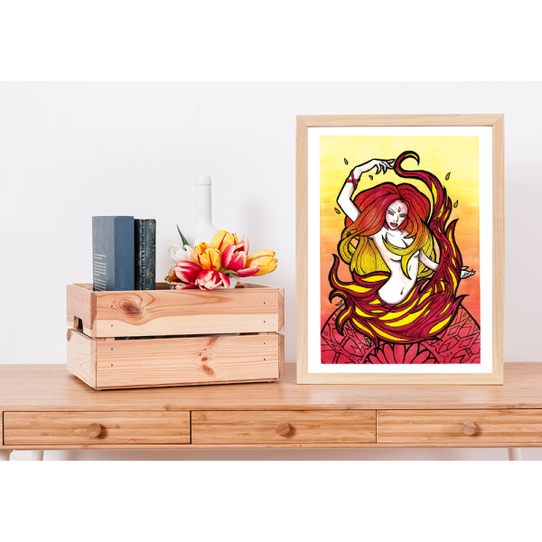 Element Fire Print - A3/A4/A6