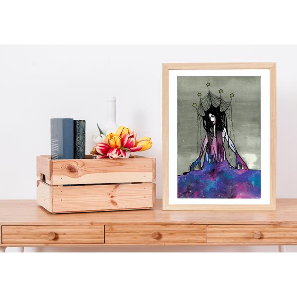 Original Galaxy Priestess - A3