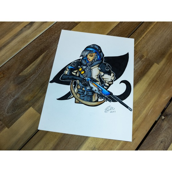 Original Overwatch Ana - A4