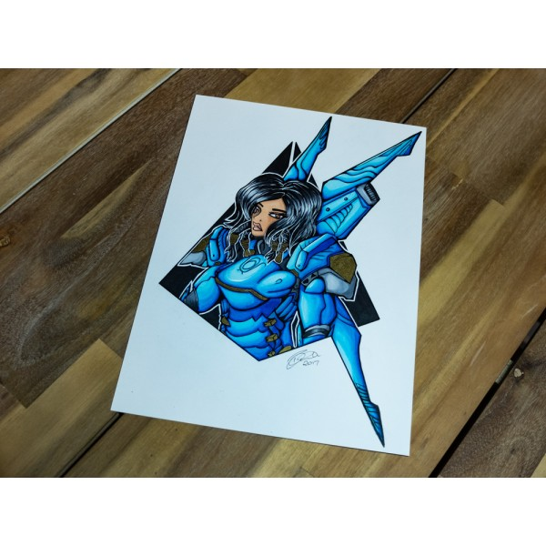 Original Overwatch Pharah - A4