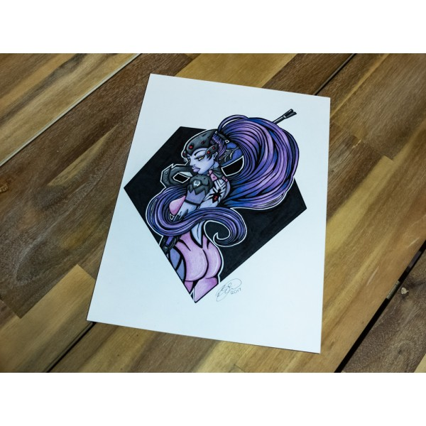 Original Overwatch Widowmaker - A4