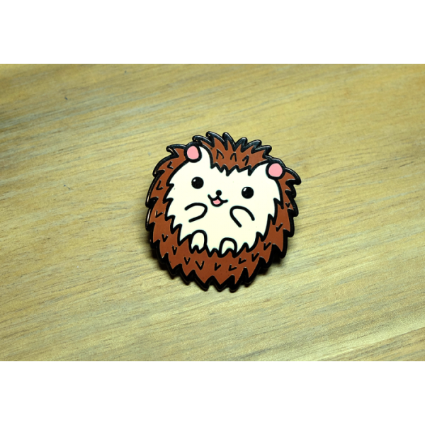 Enamel Pin Hedgehog