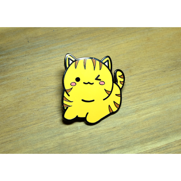 Enamel Pin Kitty Tabby